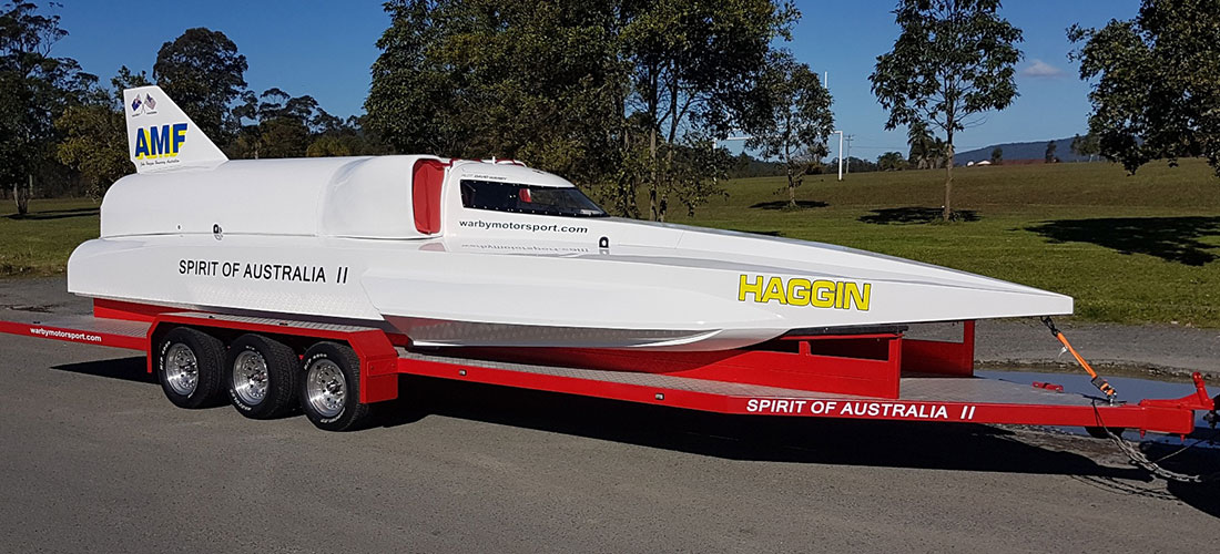 spirit of australia ii warby motorsport